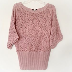 ★ MAURICES | KNITTED SHORT SLEEVE WARM SWEATER